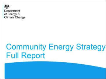 Government Community Energy Strategy