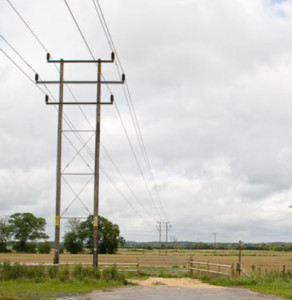 33 kW power lines look like this