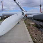 Baulker Farm Fixing rotor blades to hub