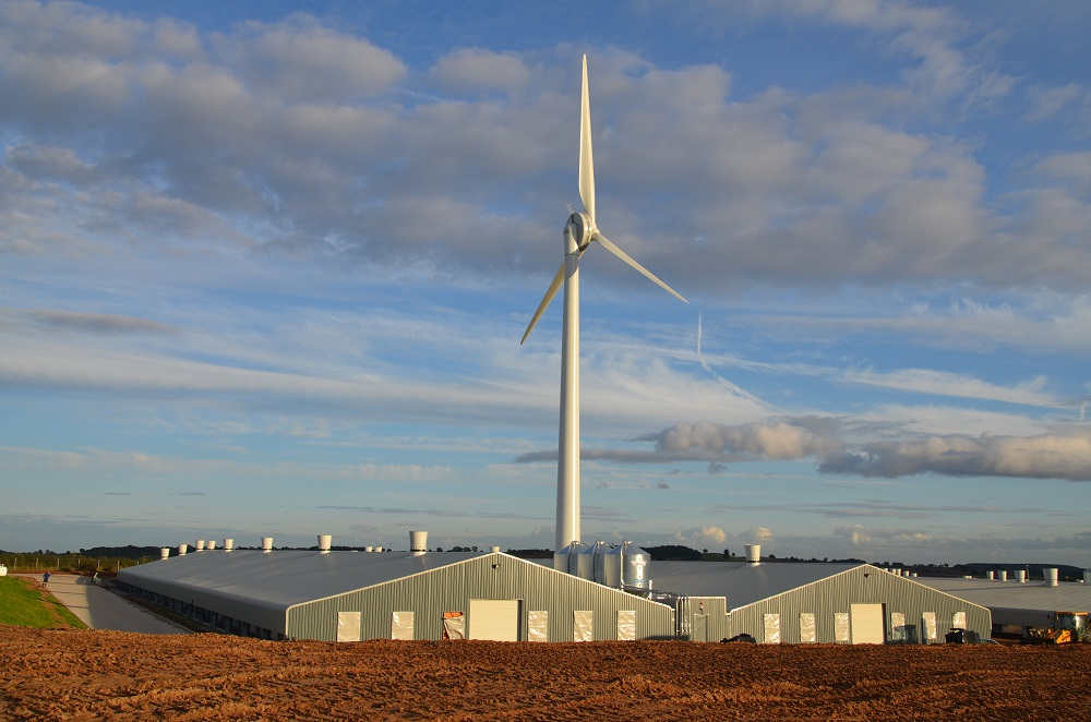 renewables first - baulker farm wind turbine