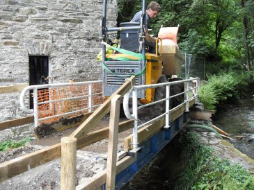Renewables First - National Trust hydro at Cotehele Mill