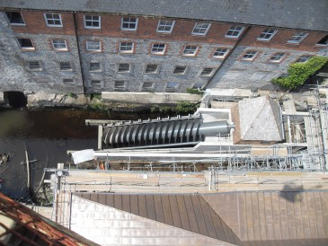 Buckfast Abbey – 84 kW Archimedes screw