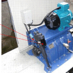 Figure 5 – Small Ecowave crossflow turbine installed in Sussex, UK