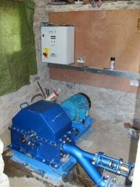 Renewables First - Bagtor House Pelton Turbine