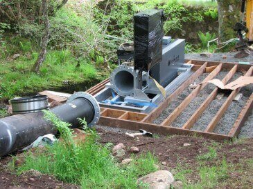 Cross Flow Turbine Installation Scotland