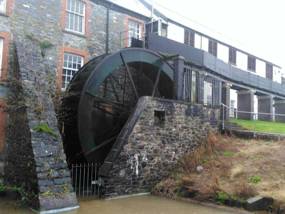 Buckfast waterwheel - Renewables First