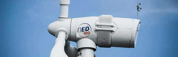 Case Study: Norvento nED 100 turbine at Pembrokeshire site