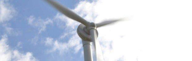 Wind turbine commissioning at Blacktoft Nursery