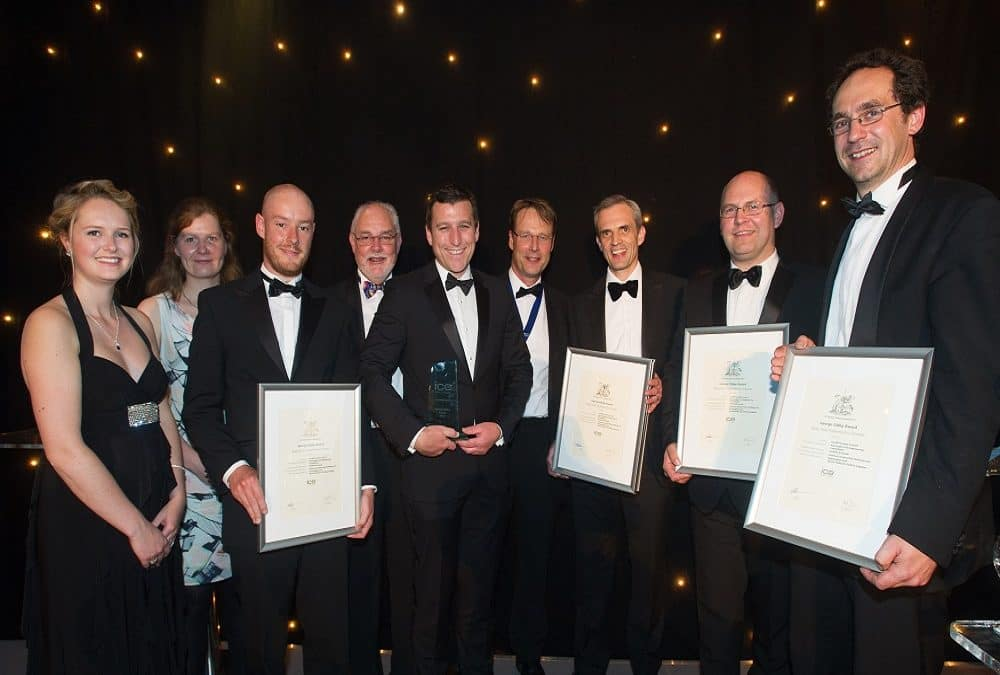 Radyr Weir hydro gets 2017 George Gibby Award for the Best Civil Engineering project in Wales